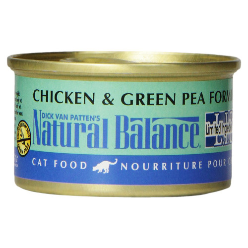 Natural Balance L I D Chicken And Green Pea Canned Cat